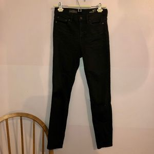 J. crew Look Out High Rise Black Jeans